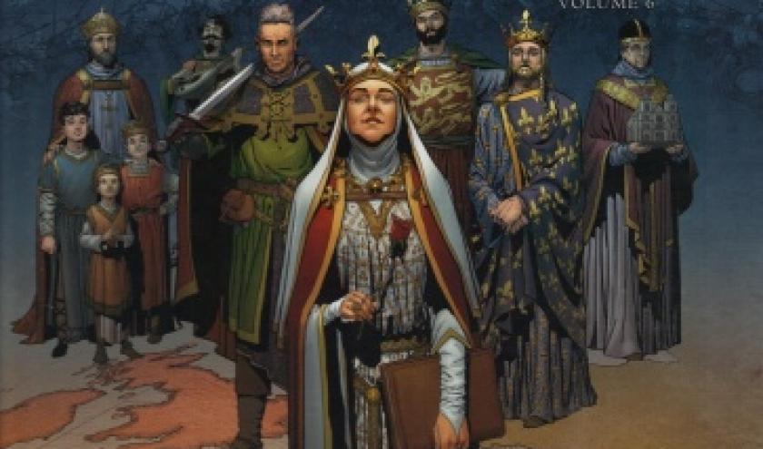 Reines de sang - Aliénor, la Légende noire, volume 6, chez Delcourt