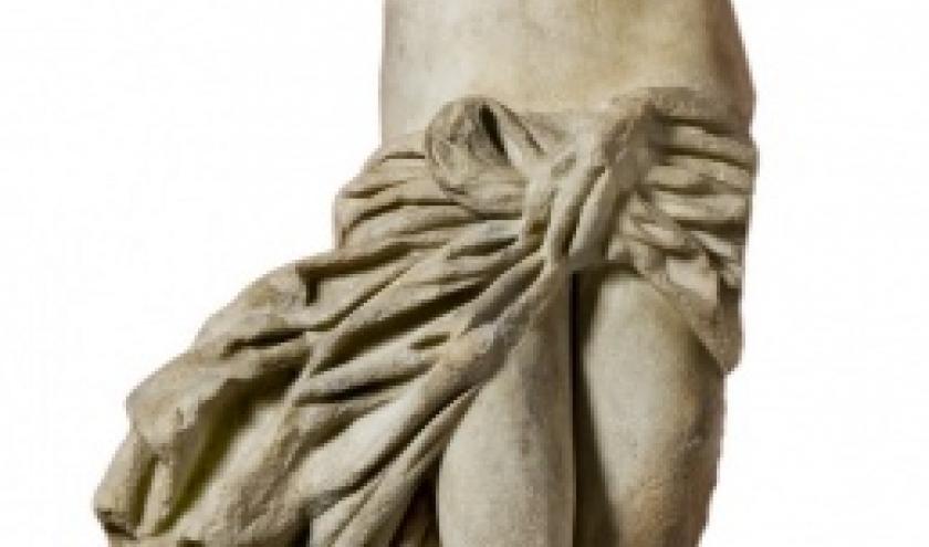 Beeld van Aphrodite. Salamis. Romeinse periode. Marmer. H. 116 cm. Inv. : Sal. St. 20A. Museum van Cyprus, Nicosia. © Departement van de Oudheden.