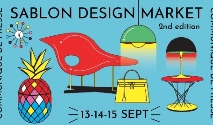 SABLON DESIGN MARKET. Du 13 au 15 septembre 2019 à Bruxelles