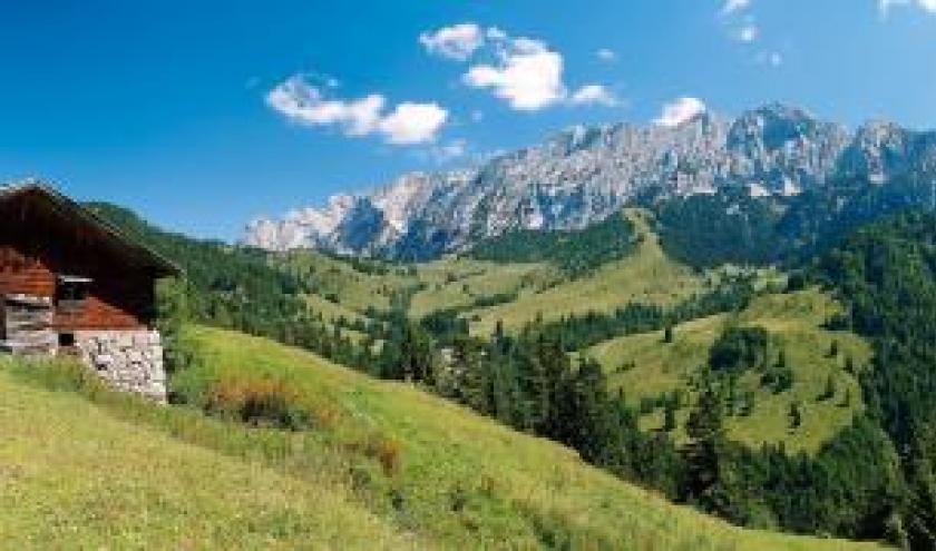 prachig landschap