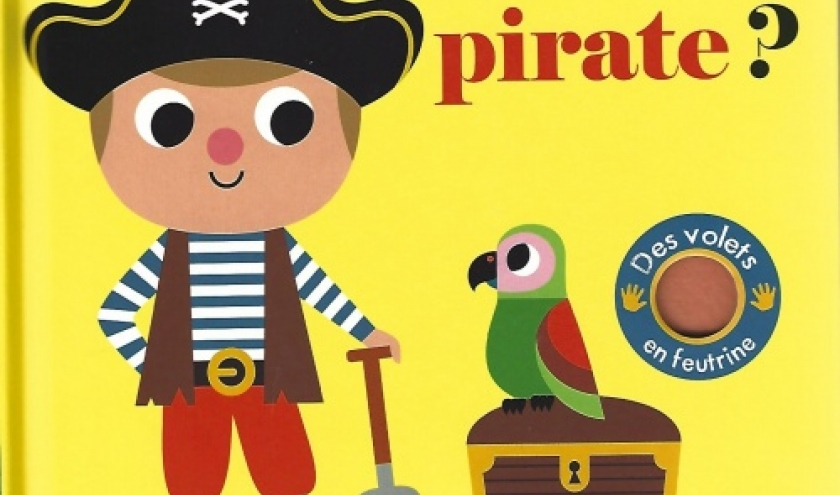 Où est le pirate ?  Livre pour enfants de 1 à 3 ans