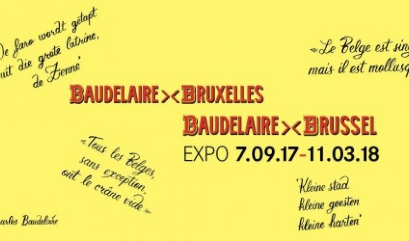 « Baudelaire-Bruxelles », à la « Maison du Roi », jusqu'au 11 Mars