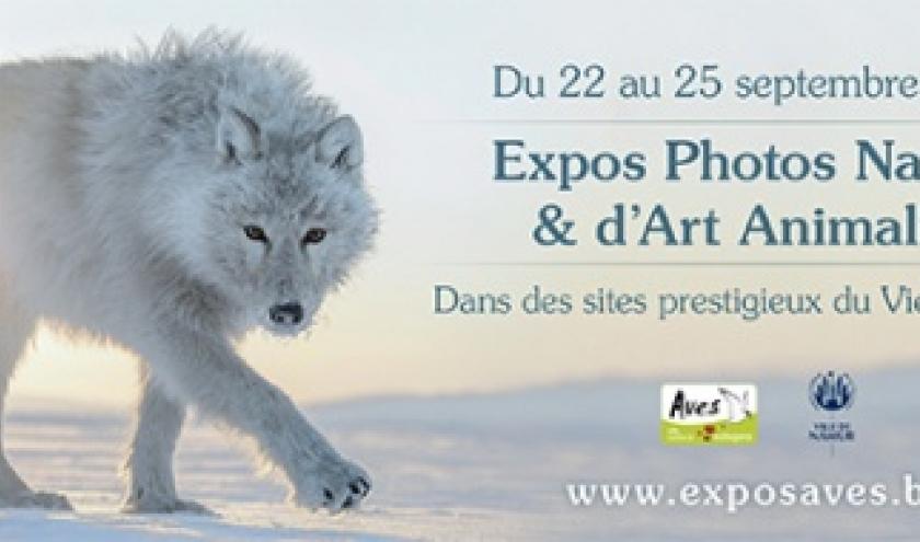« Photos Nature et Art Animalier », à Namur, du 23 au 25/09