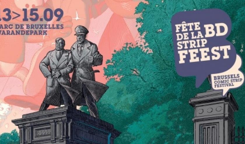 """10e """"Fête de la BD"""", à Bruxelles, jusqu'au 15 septembre"""