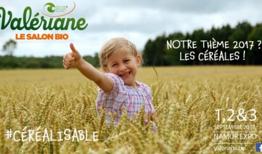 33ème « Salon bio Valériane », à Namur, ce 1er Week-End de Septembre