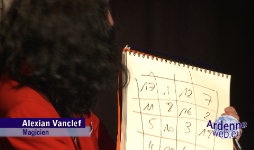 Alexian Vanclef, mentaliste