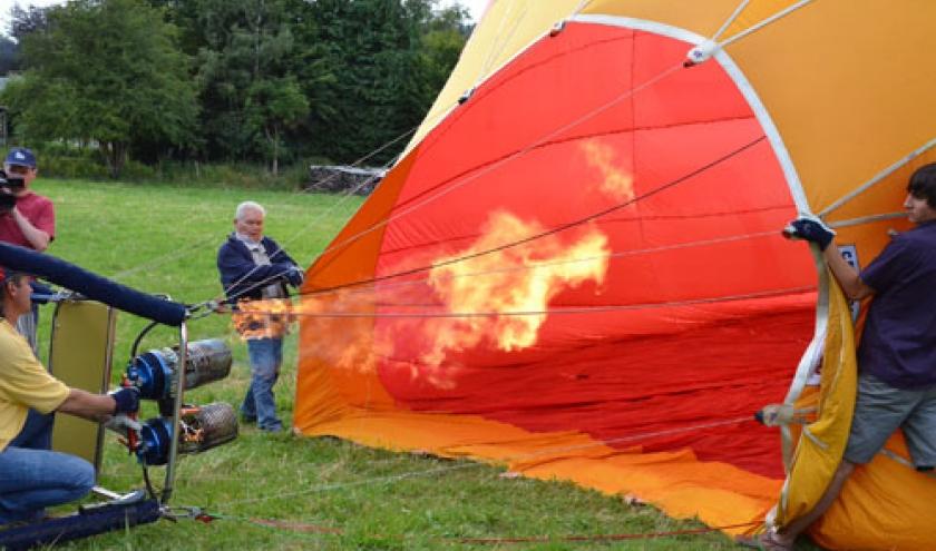 Vol en Montgolfiere en Belgique - 7822