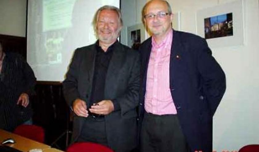 Marc Hermant et Bruno Bernard de la Sabam