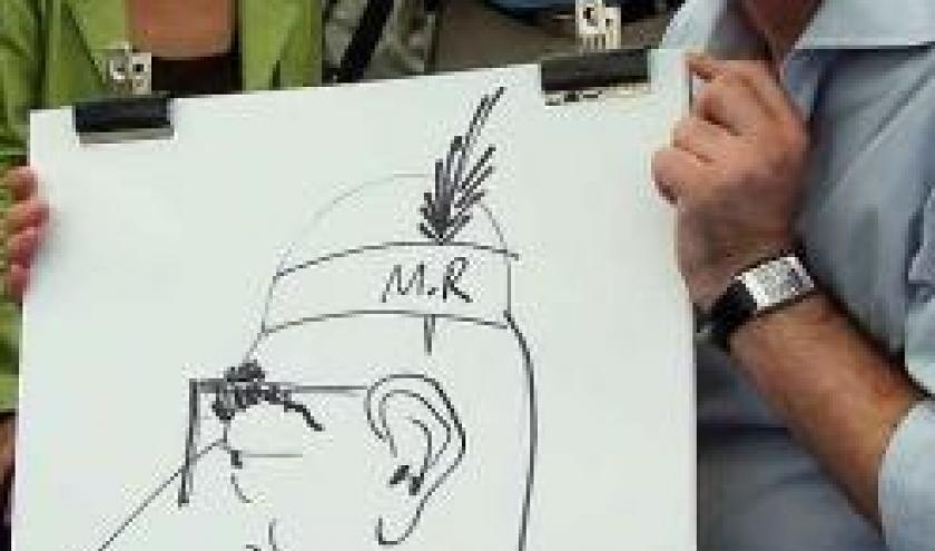 caricature MR - 8265