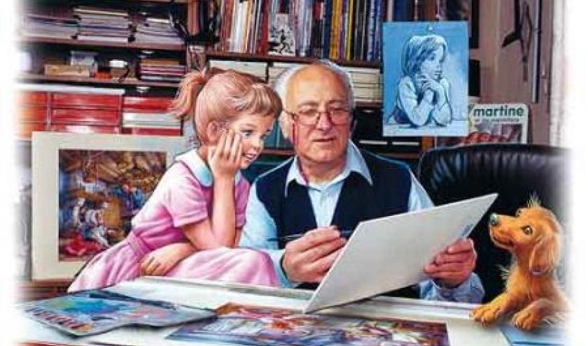 Marcel Marlier illustrateur de Martine chez Casterman