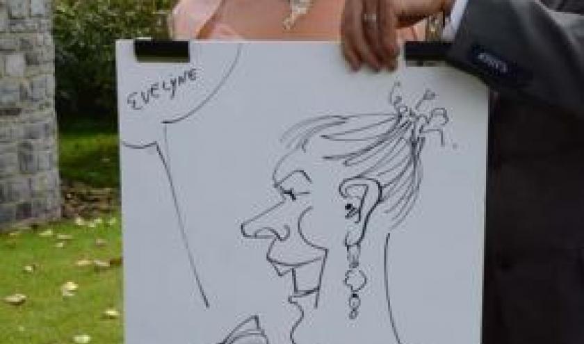 Caricature pour le mariage - 1239