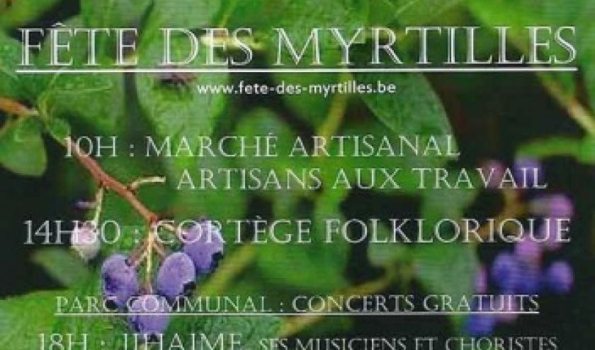 Fete des Myrtilles 2016 Vielsalm