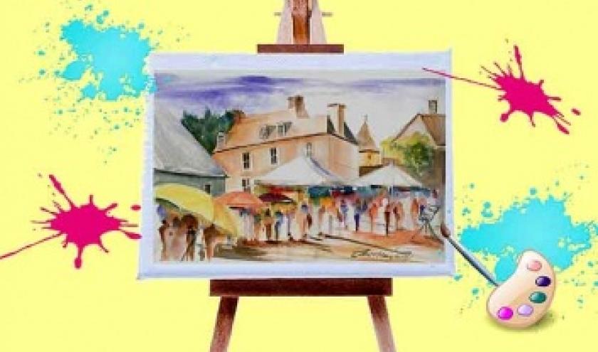 Rencontre artiste peintre Viroinval