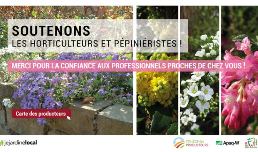 Réouverture des jardineries et pépinières :