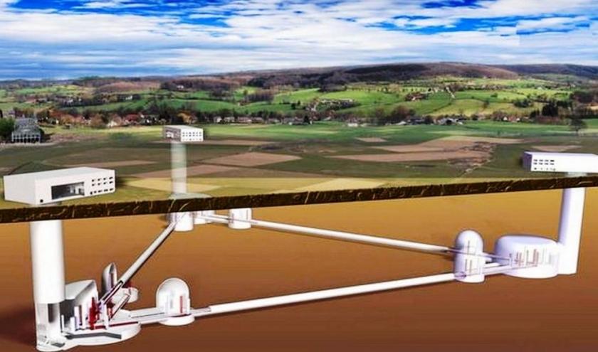 Le futur projet de télescope au  Pays de Herve ( ? )