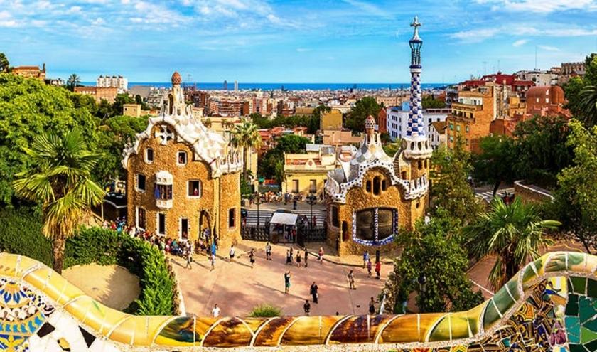 Parc Guell à Barcelone