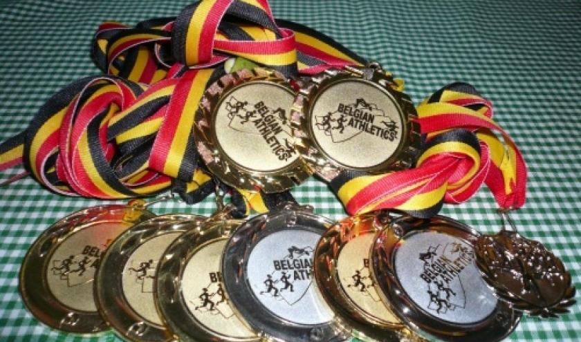 La recolte de medailles de la championne