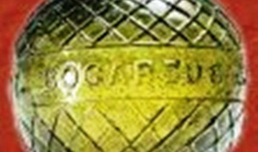 Le musée vir[us]tuel  de la Ville d'eaux  /    n° 4 Glass Target Balls     Balles cibles en verre