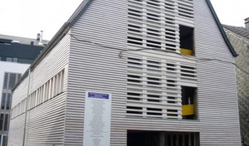 La facade rue Cavens