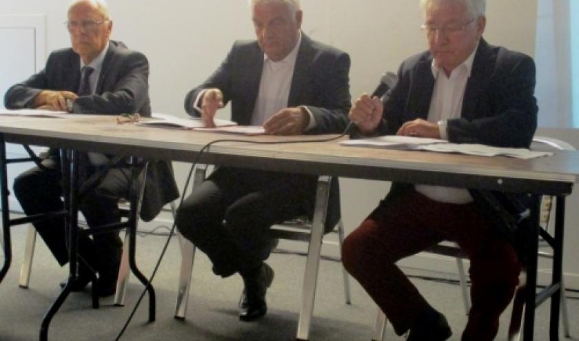 Les Organisateurs : Ms Rene Schyns, Alain Mager et Manfred Dahmen