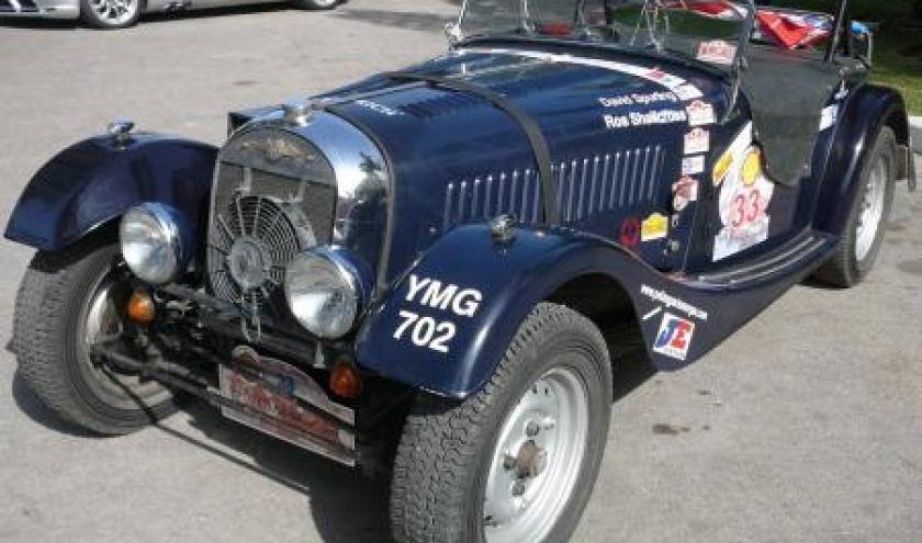 Maroc Classic Morgan + 4 de 1953