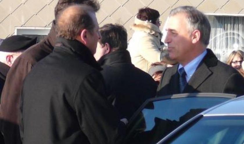 Le Gouverneur de Province accueilli par les Bourgmestres de Malmedy et Stavelot