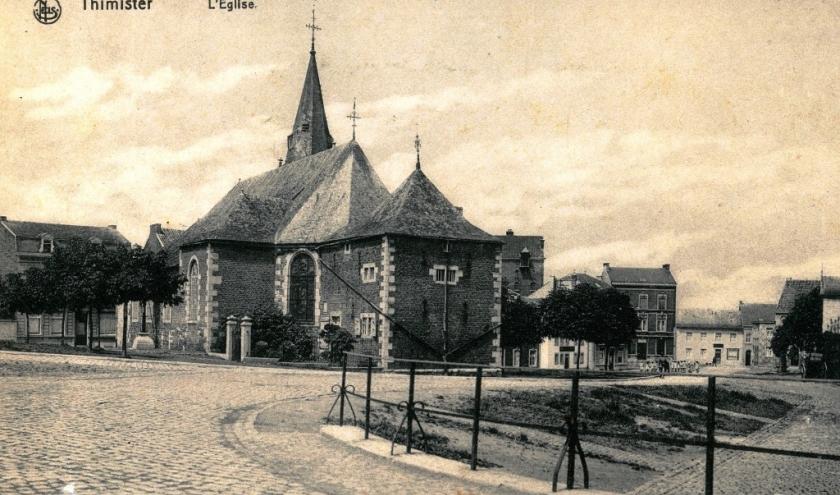 L'église St Antoine de Thimister