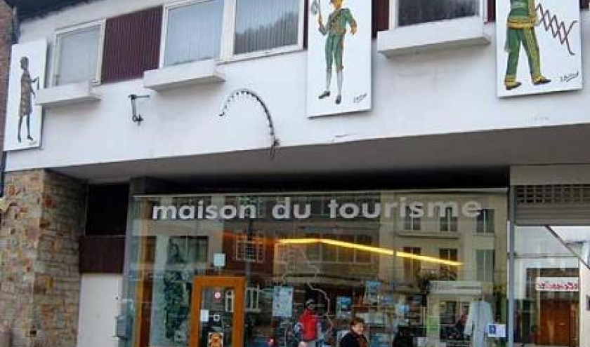 La Maison du Tourisme des Cantons de l'Est installee Place Albert 1er a Malmedy