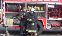 La decouverte du metier de pompier