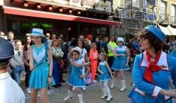 video carnaval de La Roche 2017