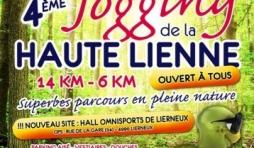 Lierneux. Jogging de la Haute Lienne.